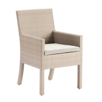 Cubix Outdoor Dining Stackable Armchair