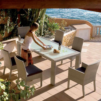 Cubix Outdoor 7 pc Dining Set
