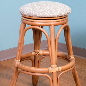 Universal Backless Counterstool in Antique Honey finish