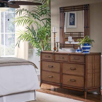 Palm Island Triple Dresser