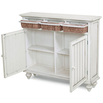 Monaco Entry Cabinets with Baskets