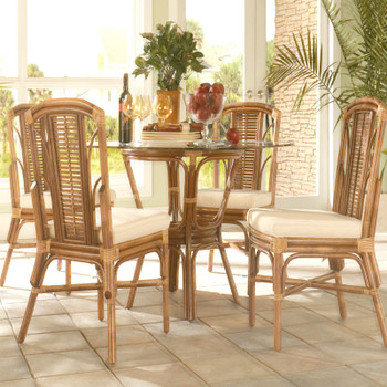 Bayview 5 piece Round Dining Set with Side Chairs