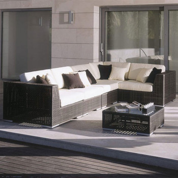 Atlantis Outdoor 6 piece Deep Seating Sectional Set