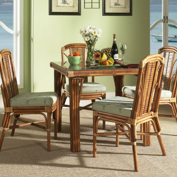 Bayview 5 piece Square Dining Set with Side Chairs
