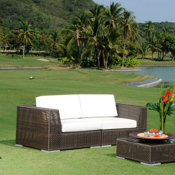 Atlantis Outdoor Deep Seating Loveseat