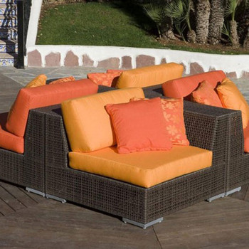 Atlantis Outdoor 4 piece Deep Seating Sectional Set
