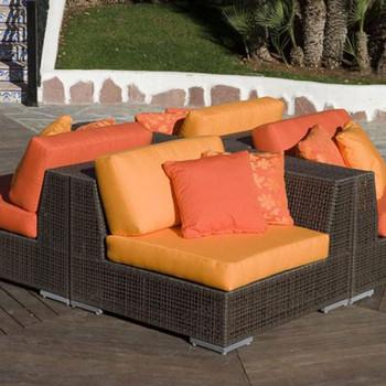 Atlantis Outdoor 4 piece Deep Seating Sectional Set