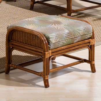 Edgewater Ottoman from Classic Rattan