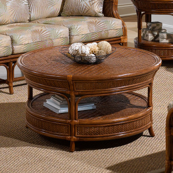Edgewater CR Coffee Table with Glass Top