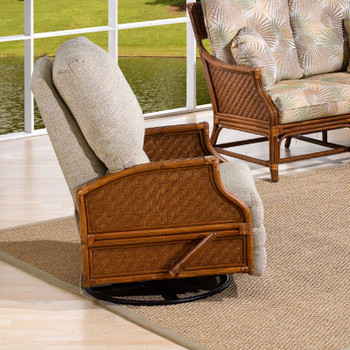 Edgewater Wall Hugger Recliner from Classic Rattan