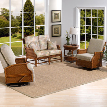 Edgewater 4 piece Seating Set from Classic Rattan