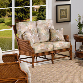 Edgewater Loveseat from Classic Rattan