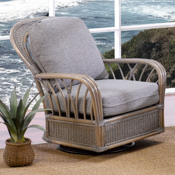 Ocean View Swivel Glider Chair