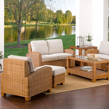 Millennial seating set from Classic Rattan