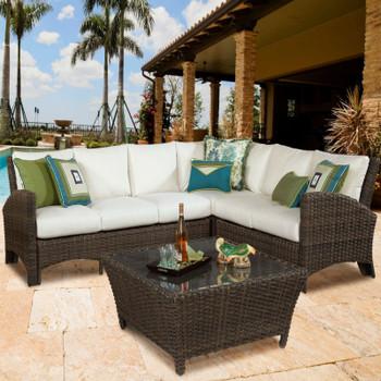 Panama Outdoor Sectional Set