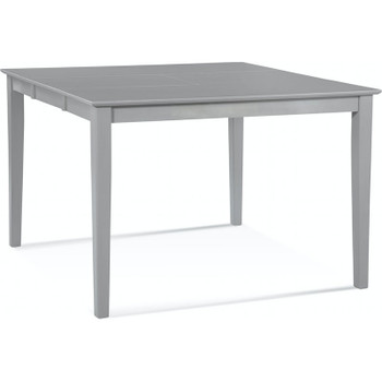 "Hues Extension Counter Table in Greystone finish - 54"" x 54"""