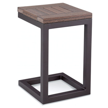 Alghero Outdoor Side Table with Java top