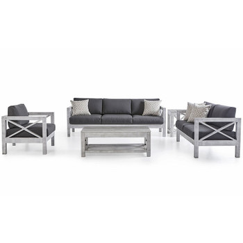 Farlowe Outdoor 5  piece Seating Set