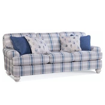 Artisan Landing 3 over 3 Queen Sleeper Sofa in Hatteras finish