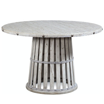 Artisan Landing Round Dining Table in Hatteras finish
