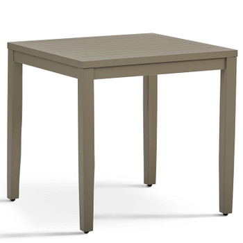 Nicole Outdoor End Table in Graystone finish