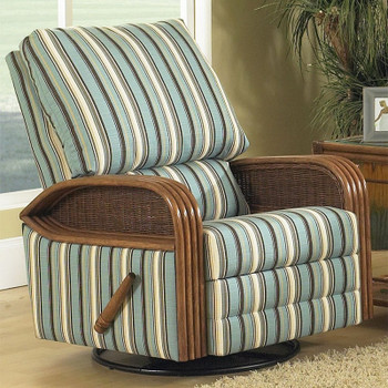 Bodega Bay Swivel Rock Recliner