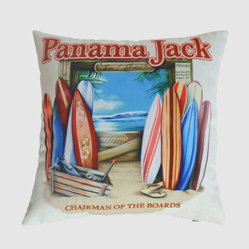 Chairman of the Boards Throw Pillow