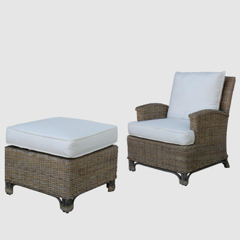 Exuma Lounge Chair and Ottoman Set