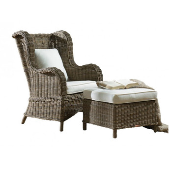 Exuma Occasional Chair and Ottoman Set
