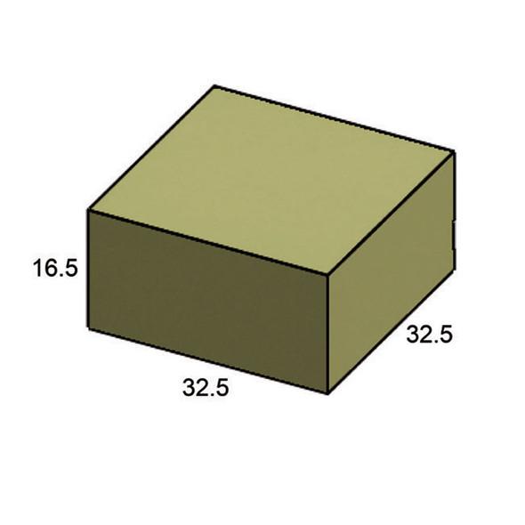 "Furniture Cover Bainbridge 32"" x 32"" Square Coffee Table"
