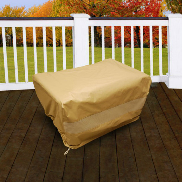 Furniture Cover Deep Seating Ottoman