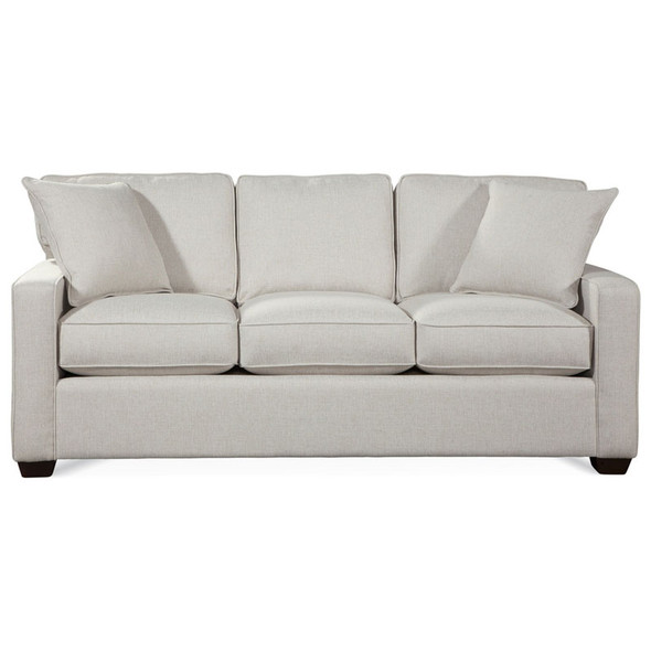 Gramercy Park Sleeper Sofa in fabric '0851-93 A' and Java finish