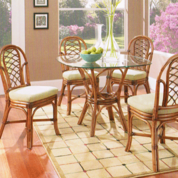 Grand Isle 5 piece Dining Set with side chairs