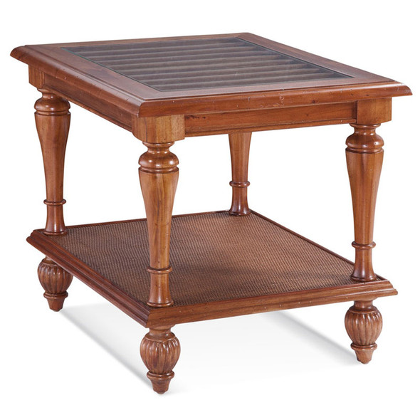 Grand View End Table in Havana finish