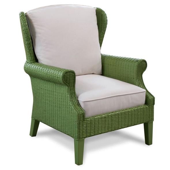 Havana Wing Chair in Kiwi finish