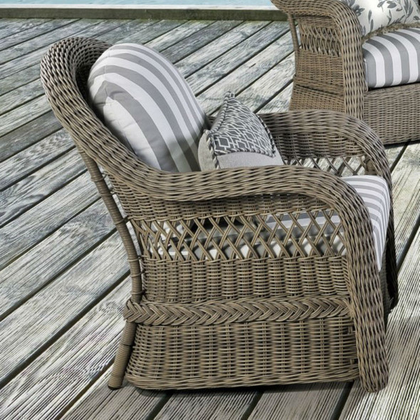 Arcadia Outdoor Chair  in Driftwood finish