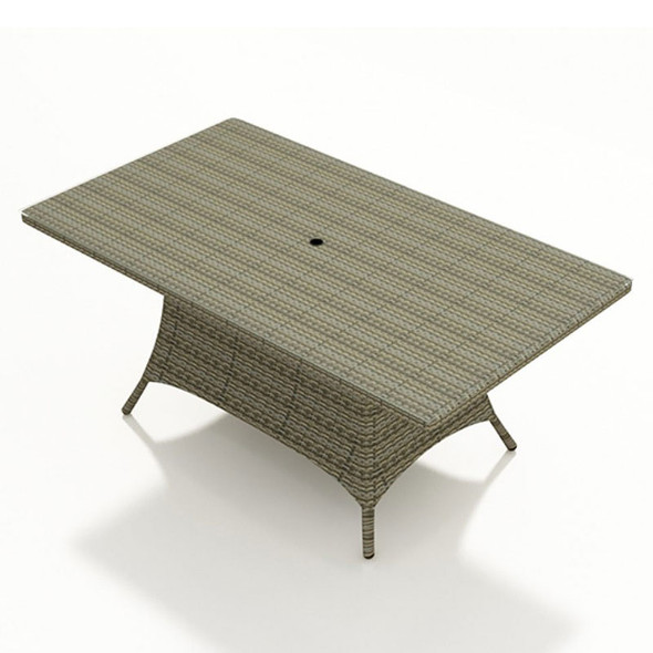 """Universal Outdoor 72"""" x 42"""" Rectangle Dining Table"""