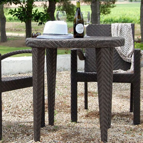 "Soho Outdoor 30"" Round Bistro Table"
