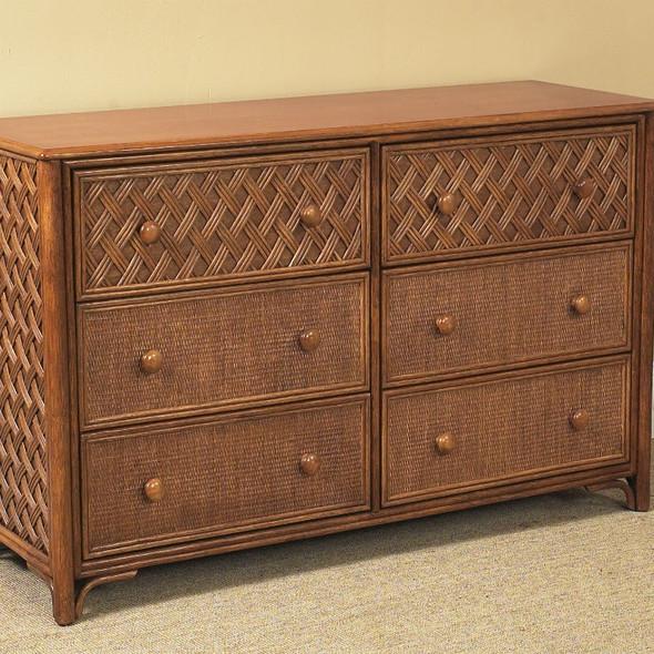 Monte Carlo 6-Drawer Double Dresser