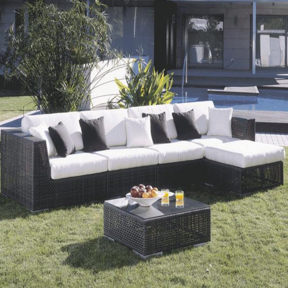 Soho Outdoor 6 piece Sectional Set