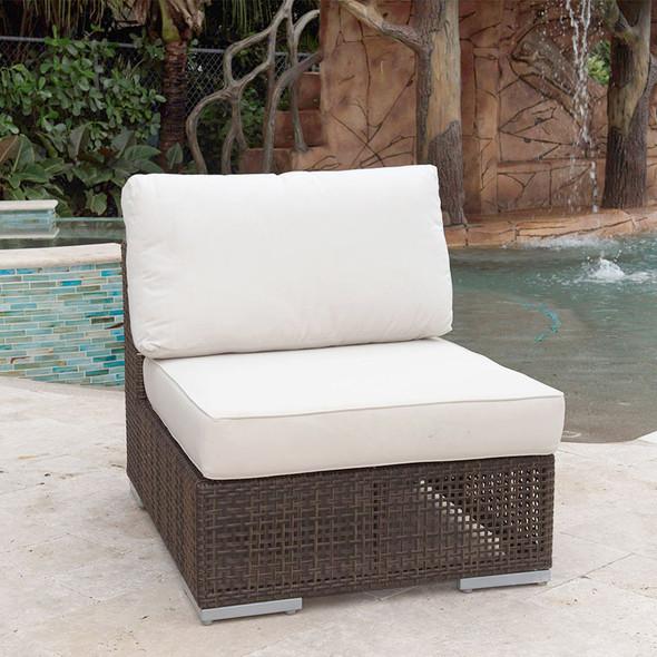 Soho Outdoor Modular Armless Chair