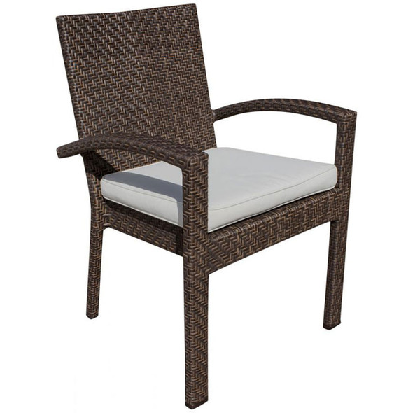 Soho Outdoor Stackable Armchair with Cushion