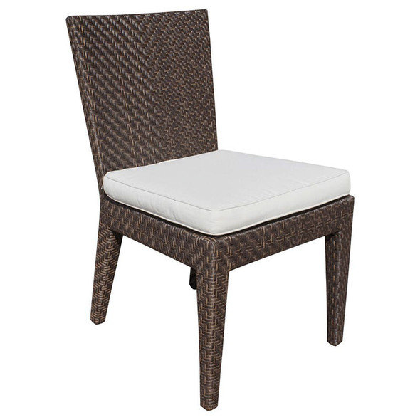 Soho Outdoor Dining Side Chair with Cushion