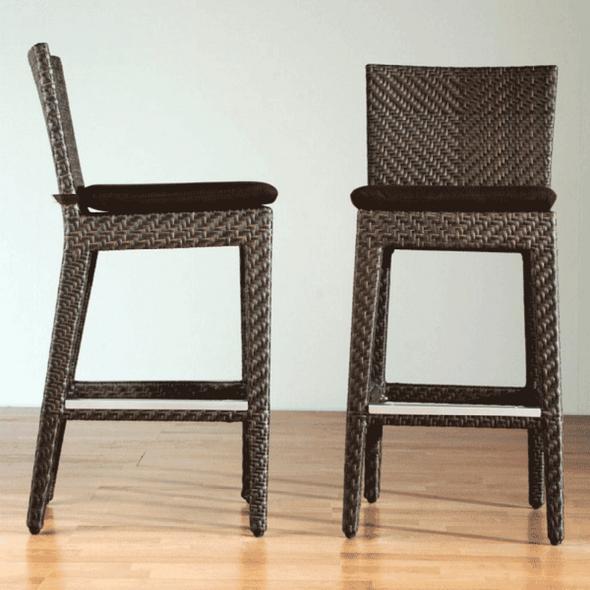 Soho Outdoor Wicker Barstool