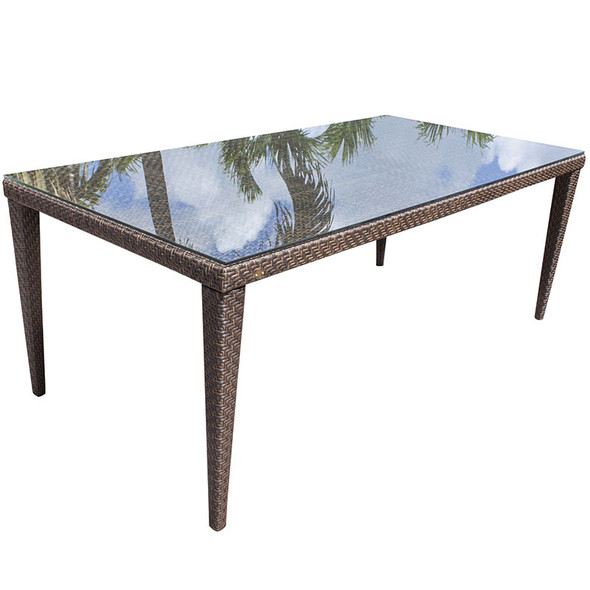 Soho Outdoor Large Rectangular Dining Table