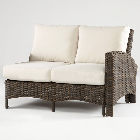 Panama One Arm Loveseat Right-Side Facing