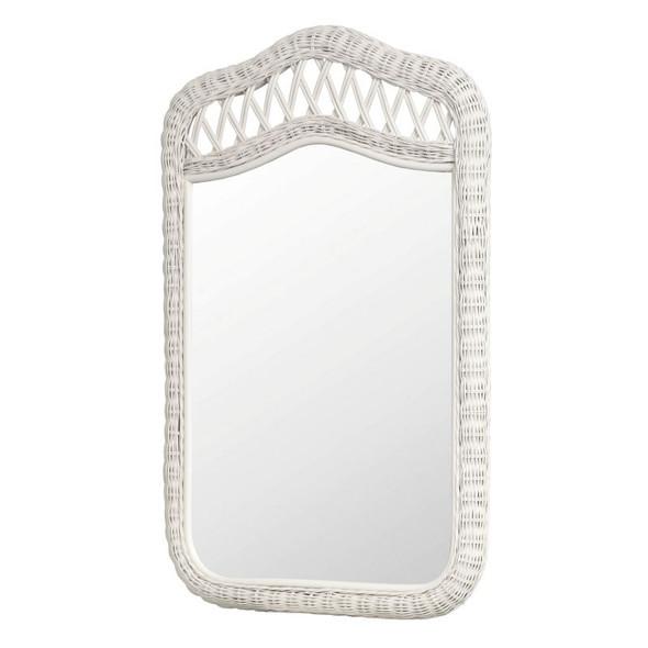 Santa Cruz Mirror in White finish