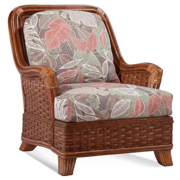 Somerset Lounge Chair in Havana finish