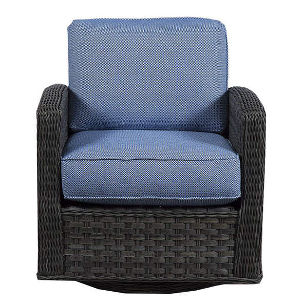 Lorca Outdoor Chair - Union Pacific Fabric -front