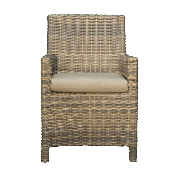 Mambo Outdoor Arm Chair - front